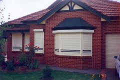 House and garage roller shutter