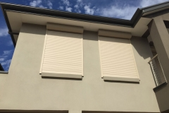 outside view of roller shutters adelaide